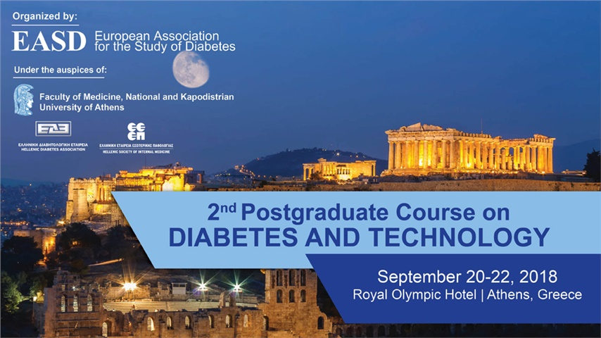 2nd Postgraduate Cource on Diabetes and Technology
