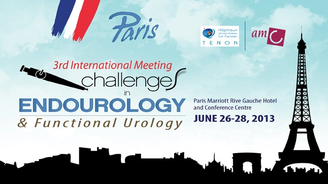 3rd International Meeting Challenges in Endourology and Functional Urology