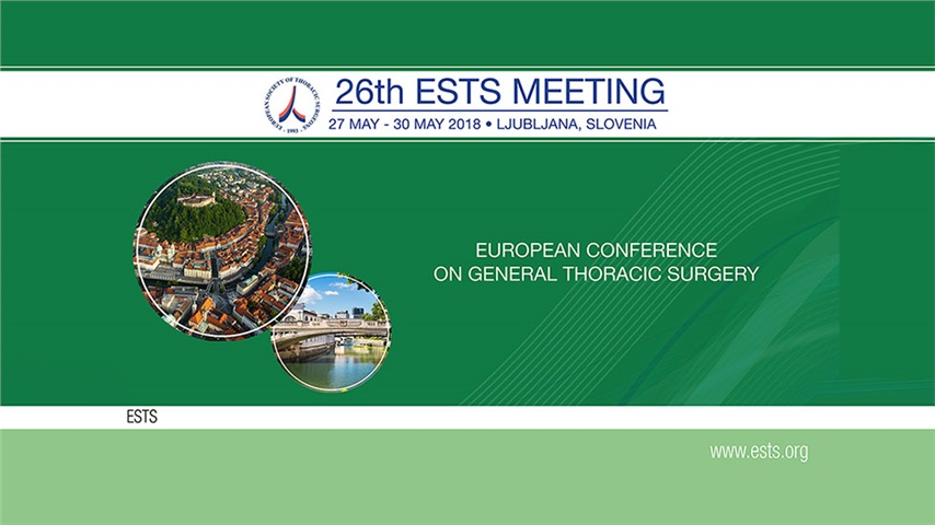 26th Meeting of the European Society of Thoracic Surgeons