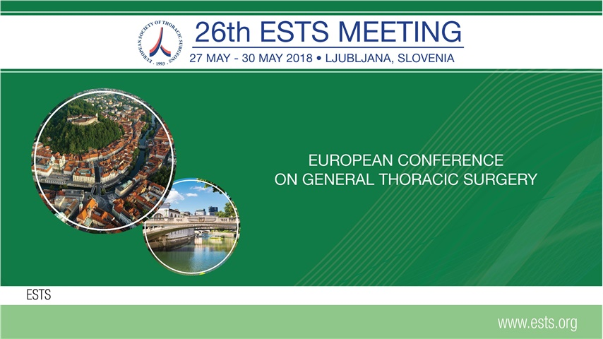 Congresses | 26th Meeting of the European Society of Thoracic Surgeons