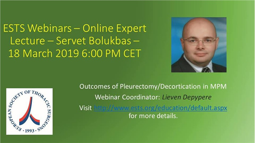 Outcomes of Pleurectomy/Decortication in MPM