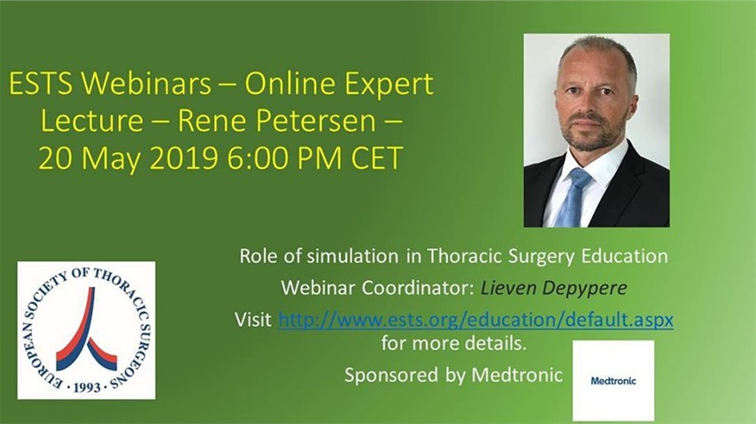 Role of Simulation in Thoracic Surgery Education