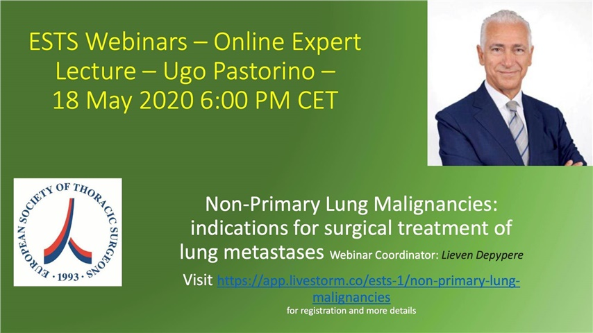 Non-Primary Lung Malignancies: indications for surgical treatment...