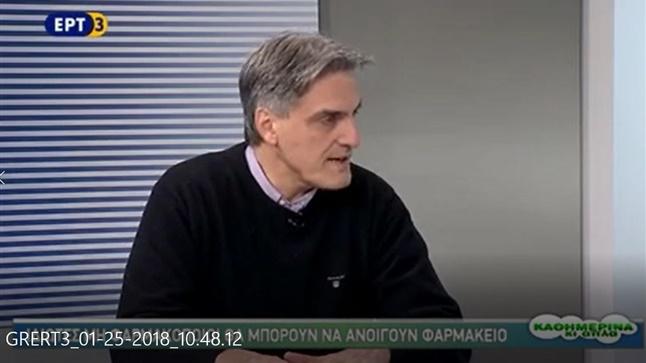 Ο πρόεδρος του ΦΣΘ Διονύσιος Ευγενίδης στην ΕΡΤ3 για το ιδιοκτησιακό...