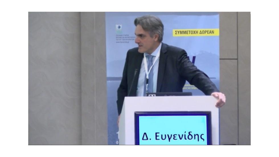 Ο Πρόεδρος του ΦΣΘ Διονύσιος Ευγενίδης μιλάει στο 6ο HPV σεμινάριο για το ρόλο του φαρμακοποιού στην πρόληψη του καρκίνου τραχήλου μήτρας 17.02.19