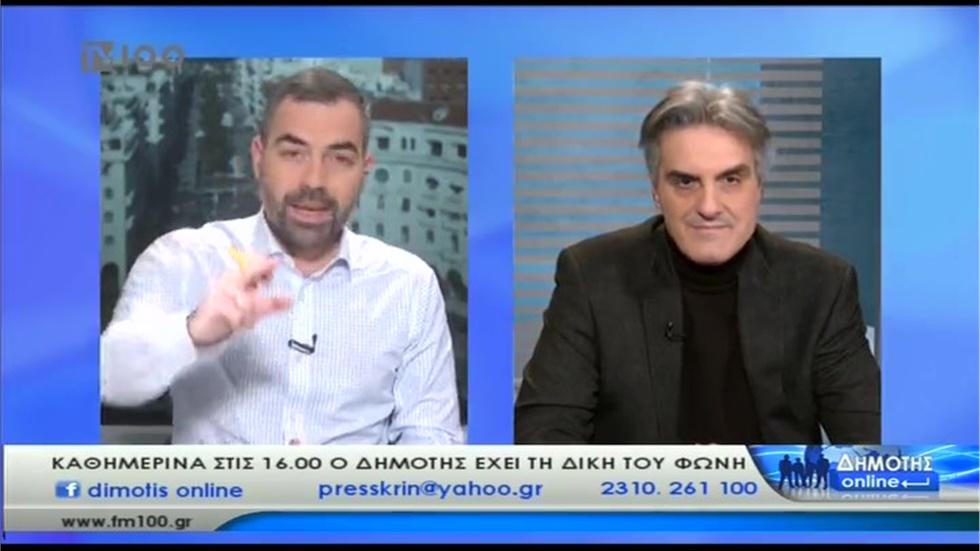 Συνέντευξη Προέδρου ΦΣΘ Δ. Ευγενίδη στην TV 100 για γρίπη και ελλείψεις φαρμάκων 24.01.2020