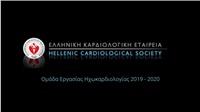 Live now / Ομάδα εργασίας Ηχωκαρδιολογίας | 2019 - 2020