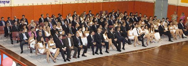 Τελετή Αποφοίτησης Θεσσαλονίκης Τάξης 2011