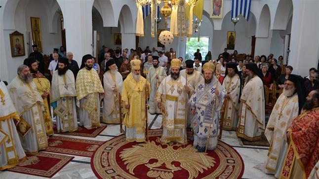 Αρχιερατικό Συλλείτουργο εις τον Ιερό Ναό Παναγίας Παρθένου και Αγ. Κυρίλλου και Μεθοδίου