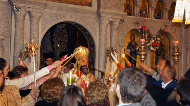 Η Ανάσταση του Κυρίου στην Ιερά Μητρόπολη Λαγκαδά, Λητής και Ρεντίνης