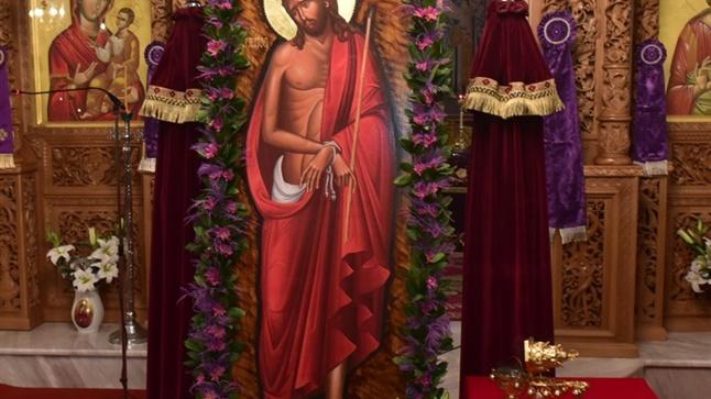 (Φωτογρ. Υλικό) Η Ακολουθία του Νυμφίου εις τον Ιερό Ναό Κοιμήσεως της Θεοτόκου - Κριθιάς