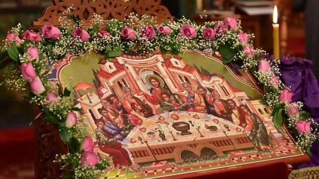 (Φωτογρ. Υλικό) Ακολουθία του Ι. Μυστηρίου του Ευχελαίου και του Νιπτήρος εις την Ιερά Μητρόπολη Λαγκαδά, Λητής και Ρεντίνης