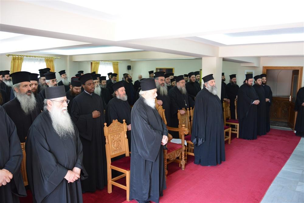 - (Δελτί Τύπου) Εθιμοτυπική Επίσκεψη - Σύναξη Ιερέων εις την Ι.Μ. Αγ. Τριάδος - Πέντε Βρύσεων