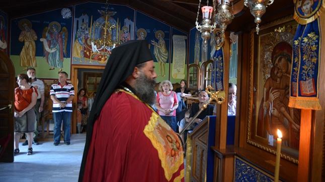 (Φωτογρ. Υλικό) Ιερά Παράκλησις προς την Υπεραγία Θεοτόκο εις την Ιερά Μονή Μεταμορφώσεως του Σωτήρος - Σοχού