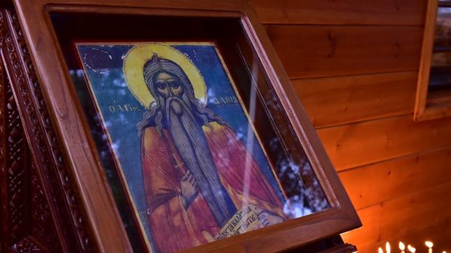 (Δελτίο Τύπου) Θυρανοίξια του νέου Ι.Ν. του Οσίου Δαβίδ εις το Κρυονέριον - Μελισσοχωρίου