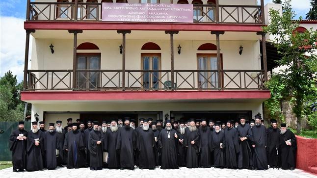 (Δελτίο Τύπου) Ολοκληρώθηκε η Γενική Ιερατική Σύναξη της Ιεράς Μητροπόλεως Λαγκαδά