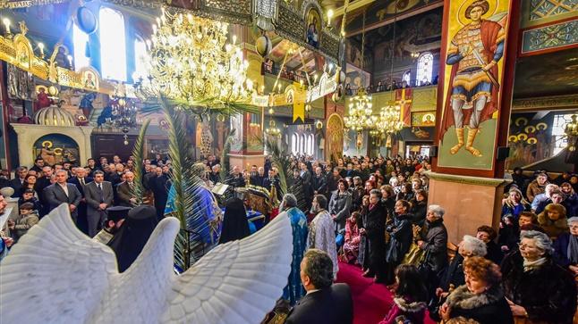 (Δελτίο Τύπου) Με Λαμπρότητα εορτάστηκε η Μεγάλη Δεσποτική Εορτή των Θεοφανείων εις την Ιερά Μητρόπολη Λαγκαδά