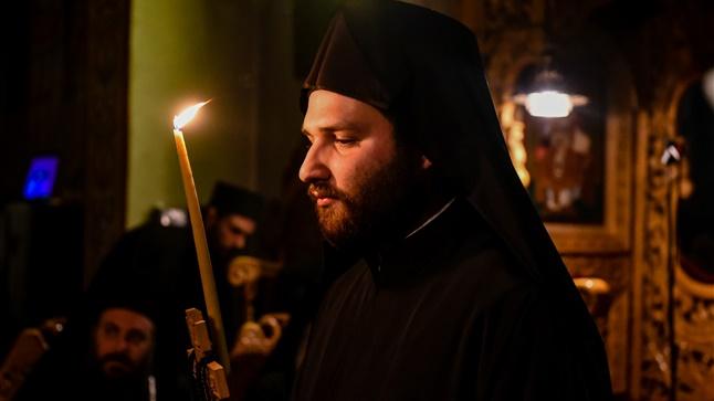 (Δελτίο Τύπου) Κουρά νέου Μοναχού εις την Ιερά Μονή Παντοκράτορος - Μελλισοχωρίου