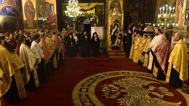 (Δελτίο Τύπου) Μέγας Πανηγυρικός Πολυαρχιερατικός Εσπερινός επί τη Ιερά Μνήμη του Αγ. Γρηγορίου του Παλαμά