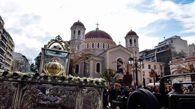 (Δελτίο Τύπου) Αρχιερατικό Συλλείτουργο εις τον Ι. Μητροπολιτικό ναό Αγ. Γρηγορίου του Παλαμά