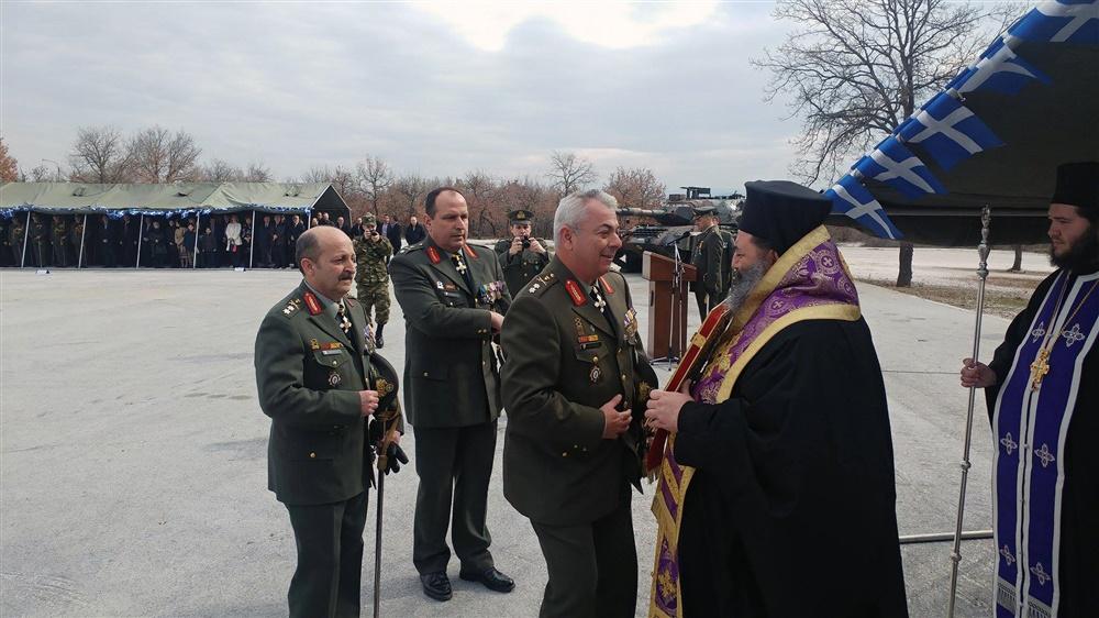 - (Δελτίο Τύπου) Τελετή Παράδοσης και Παραλαβής της Διοικήσεως της 34ης Μηχανοκίνητης Ταξιαρχίας