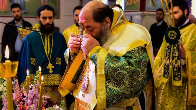 (Δελτίο Τύπου) Αρχιερατική Θεία Λειτουργία την Γ'  Κυριακή των Νυστειών εις τον Ι.Ν. Κωνσταντίνου και Ελένης - Ασσήρου