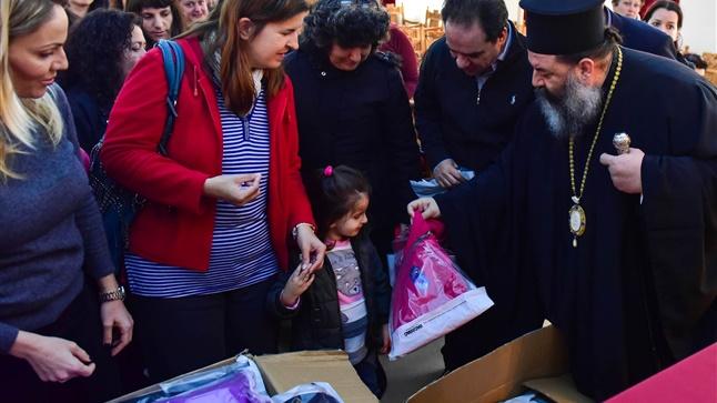 Η «ΑΠΟΣΤΟΛΗ», ο Δήμος και η Ιερά Μητρόπολη στηρίζουν ευάλωτες οικογένειες του Λαγκαδά