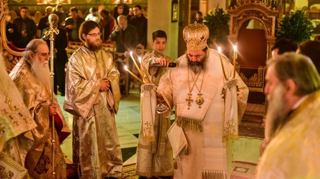 (Δελτίο Τύπου) Πανηγυρική Αρχιερατική Θεία Λειτουργία εις την Ιερά Μονή Παντοκράτορος - Μελισσοχωρίου
