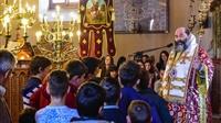 (Δελτίο Τύπου) Η Ακολουθία του Εσπερινού και Αρχιερατική Θεία Λειτουργία εις τον Ι.Ν. Αγ. Γεωργίου - Σοχού