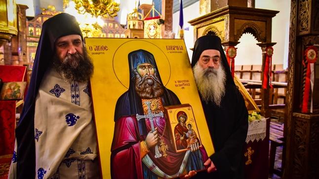 (Δελτίο Τύπου) Η Εορτή του Αγίου Γεωργίου και η Καθιέρωση της νέας Εικόναςτου Οσίου Γαβριήλ του Ιβηρίτου
