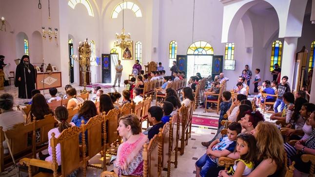 (Δελτίο Τύπου) Αρχιερατική Θεία Λειτουργία εις τον νεοανεγερθέντα Ιερό ναό των Θεοφανείων, Τιμίου Προδρόμου και Αγ. Αναστασίας της Φαρμακολυτρίας