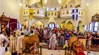 (Δελτίο Τύπου) Αρχιερατική Θεία Λειτουργία εις τον Ιερό ναό Αγ. Ραφαήλ, Νικολάου και Ειρήνης, Λαγυνών