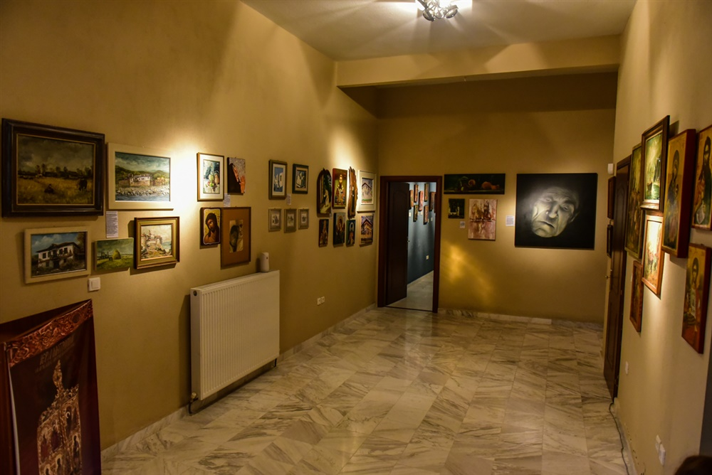- (Δελτίο Τύπου) Πραγματοποιήθηκαν τα Εγκαίνια της πρώτης πινακοθήκης Λαγκαδιανών ζωγράφων