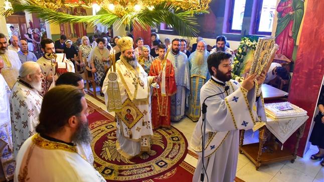 (Δελτίο Τύπου) Η Εορτή του Αγίου Παντελεήμονος εις την Ιερά Μητρόπολη Λαγκαδά, Λητής και Ρεντίνης