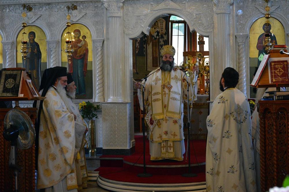 - (Δελτίο Τύπου) Αρχιερατική Θεία Λειτουργία εις τον Ιερό Ναό Αγίας Παρασκευής - Κολχικού