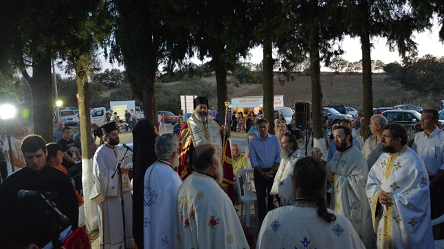 (Δελτίο Τύπου) Μέγας Πανηγυρικός Αρχιερατικός Εσπερινός επί τη εορτή των Επτά Παίδων Μακκαβαίων