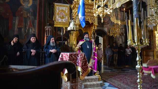 (Δελτίο Τύπου) Η εορτή του Αγίου Νήφωνος, Πατριάρχου Κωνσταντινουπόλεως εις την Ι.Μ. Διονυσίου Αγίου Όρους
