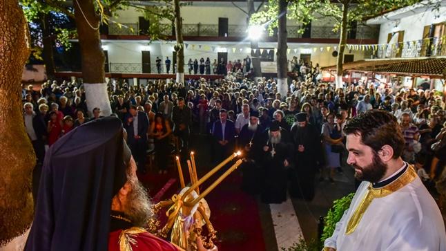 (Μέγας Πανηγυρικός Αρχιερατικός Εσπερινός επί τη εορτή του Γεννεθλίου της Υπεραγίας Θεοτόκου