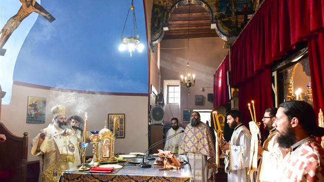 (Δελτίο Τύπου) Αρχιερατική Θεία Λειτουργία Κυριακή προ της Υψώσεως του Τιμίου Σταυρού