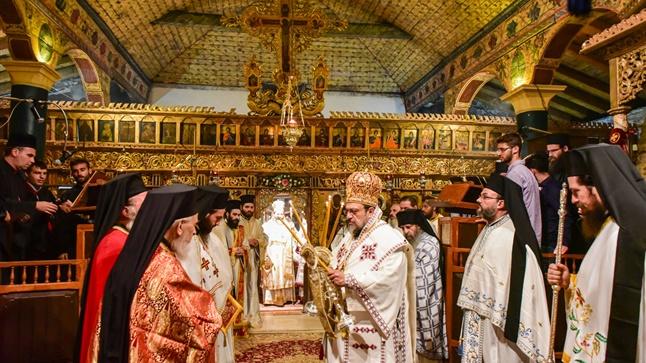 Ιερά Αγρυπνία επί τη ευκαιρία της ενθυμήσεως του γεγονότος, της κατά θαυμαστού τρόπου ανευρέσεως και ανακομιδής των Χαριτοβρύτων και Σεπτών Λειψάνων της Αγίας Νεοπαρθενομάρτυρος Κυράννης