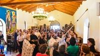 (Δελτίο Τύπου) Ολοκληρώθηκαν τα εγκαίνια του νέου Ιερού ναού της Ζωοδόχου Πηγής - Χρυσαυγής
