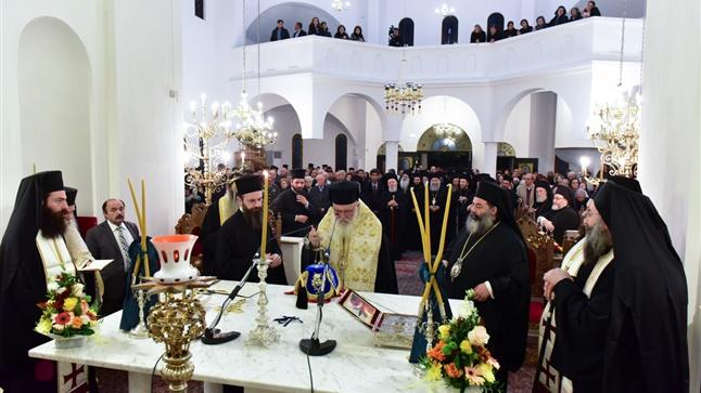 (Δελτίο Τύπου) Εσπερινός ΕγκαινίωνΙερού Ναού Θεοφανίων Λαγκαδά από τον Μακαριώτατο Αρχιεπίσκοπο Αθηνών και πάσης Ελλάδος κ.κ. Ιερώνυμο