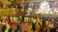 (Δελτίο Τύπου) Αρχιερατικό Συλλείτουργοκαι Χειροτονία Διακόνου επί τη εορτή του Αγίου Δαμασκηνού του Στουδίτου
