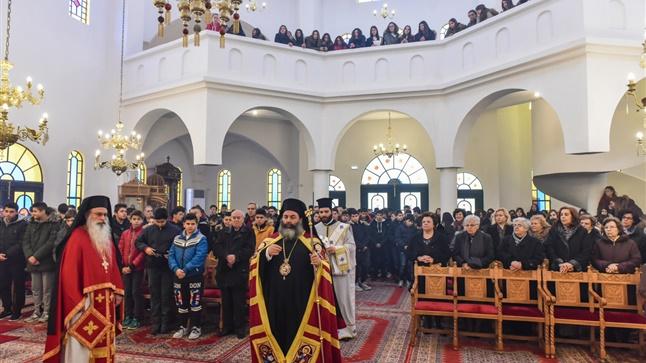 (Δελτίο Τύπου) Η Ακολουθία των Μεγάλων Ωρών των Χριστουγέννων, η Θεία Λειτουργία για τους μαθητές του Γυμνασίου και Παραδοσιακά Κάλαντα από Στρατιώτες