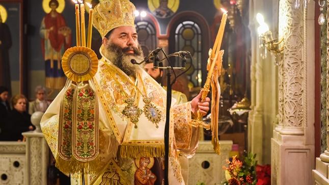 (Δελτίο Τύπου) Πανηγυρική Αρχιερατική Θεία Λειτουργία επί τη εορτή της Γεννήσεως του Κυρίου ημών Ιησού Χριστού