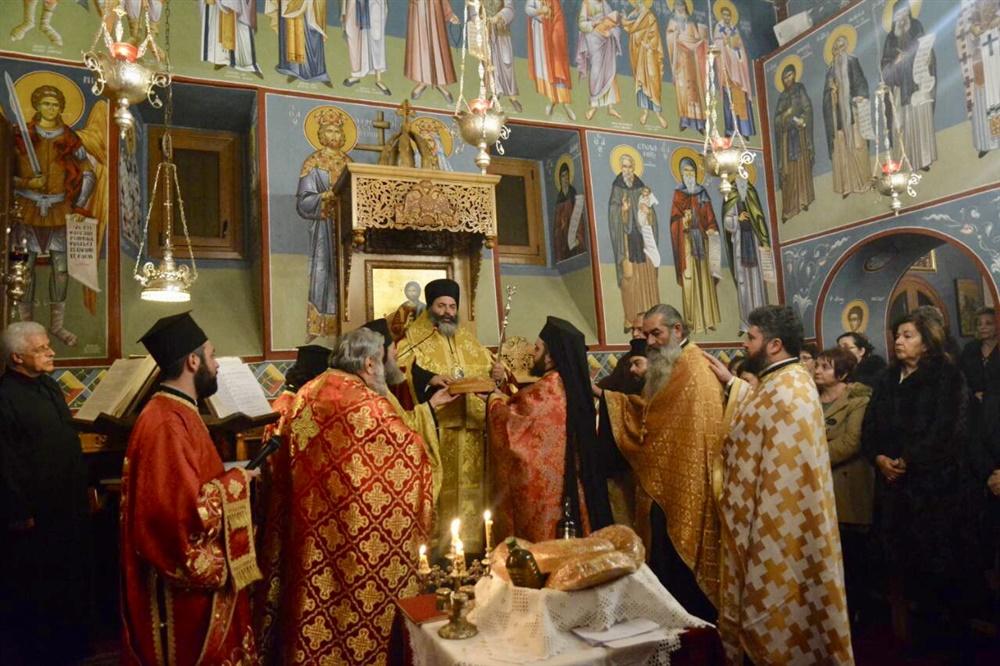 - (Φωτογρ. Υλικό) Μέγας Πανηγυρικός Εσπερινός επί τη εορτή της Αγίας ενδόξου Οσιομάρτυρος Ανυσίας