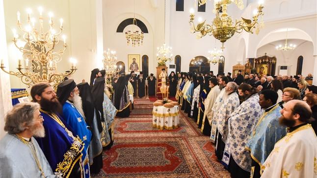 (Δελτίο Τύπου) Μέγας Πανηγυρικός Αρχιερατικός Εσπερινός επί τη εορτή του Τιμίου Προδρόμου και Βαπτιστού Ιωάννου