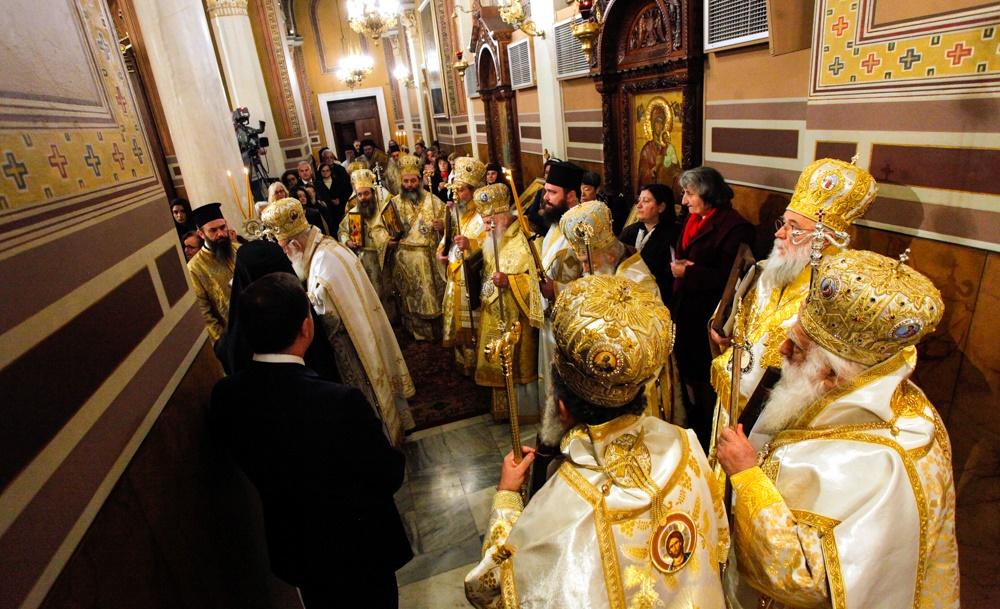 - (Δελτίο Τύπου) Συνοδική Θεία Λειτουργία επ΄ ευκαιρία της εορτής της Αναστηλώσεως των Ιερών Εικόνων