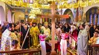 (Δελτίο Τύπου) Γ' Κυριακή των νηστειών εις τον Ιερό ναό Κωνσταντίνου και Ελένης - Ασσήρου