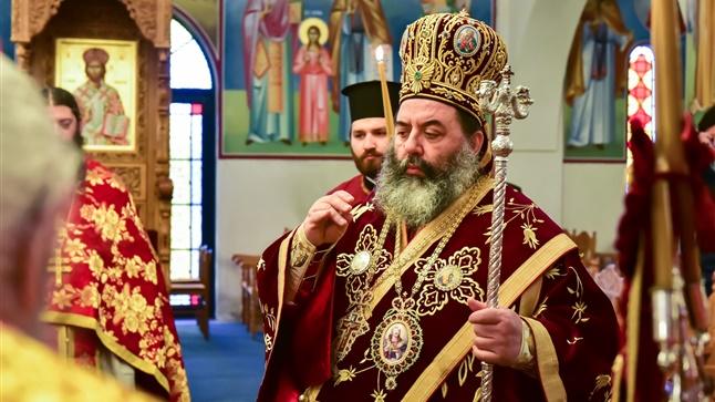 (Δελτίο Τύπου) Αρχιερατική Θεία Λειτουργία εις τον Ιερό Ναό Αγ. Κωνσταντίνου και Ελένης - Ασσήρου